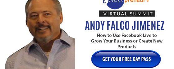 Andy Falco – Evolvepreneur Virtual Summit Speaker