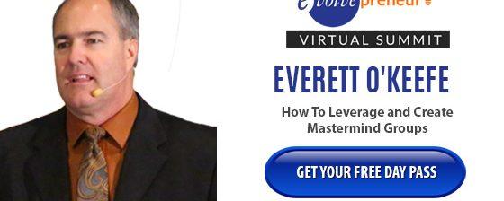 Everett O'Keefe – Evolvepreneur Virtual Summit Speaker
